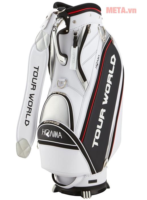 Túi golf Honma CB-1807 màu trắng
