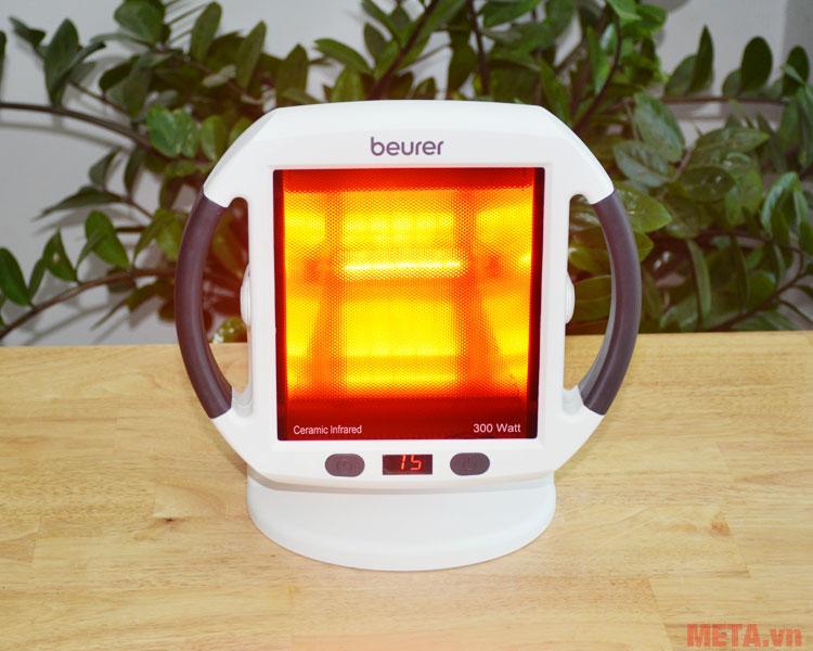Beurer IL50 hoạt động với mức nhiệt từ 10 - 35 độ