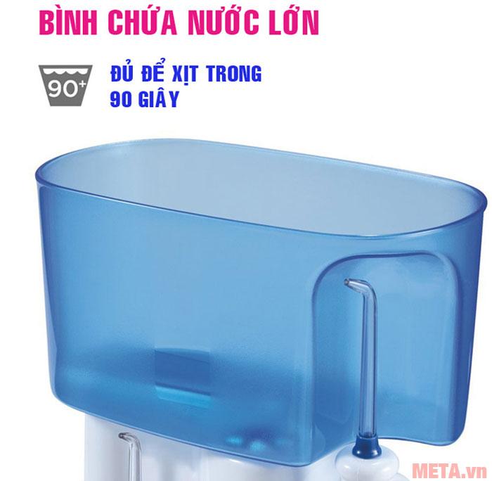 Bình chứa nước có dung tích 1 lít