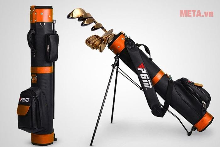Túi golf cao cấp PGM QIAB008 màu cam