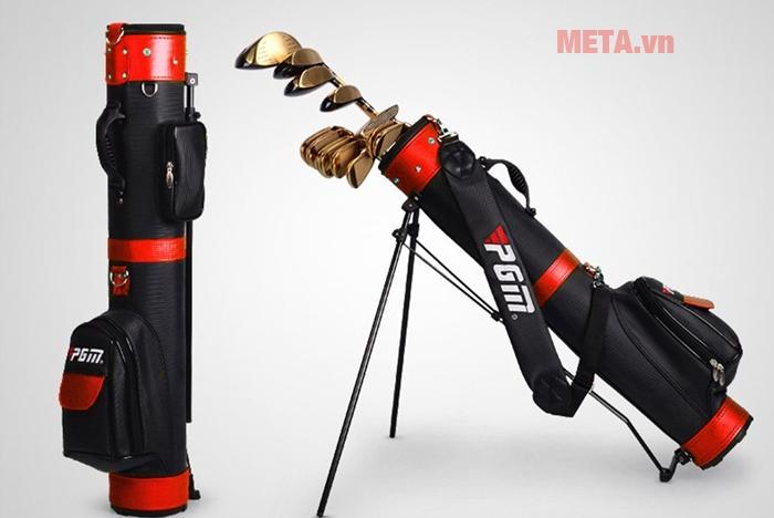 Túi golf cao cấp PGM QIAB008 màu đỏ