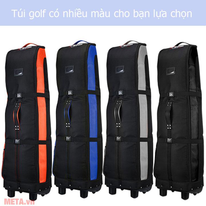 Hình ảnh túi golf hàng không có nhiều màu kết hợp cho bạn lựa chọn