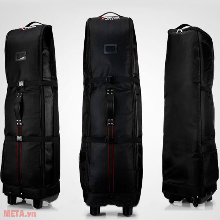 Túi hàng không màu đen full túi
