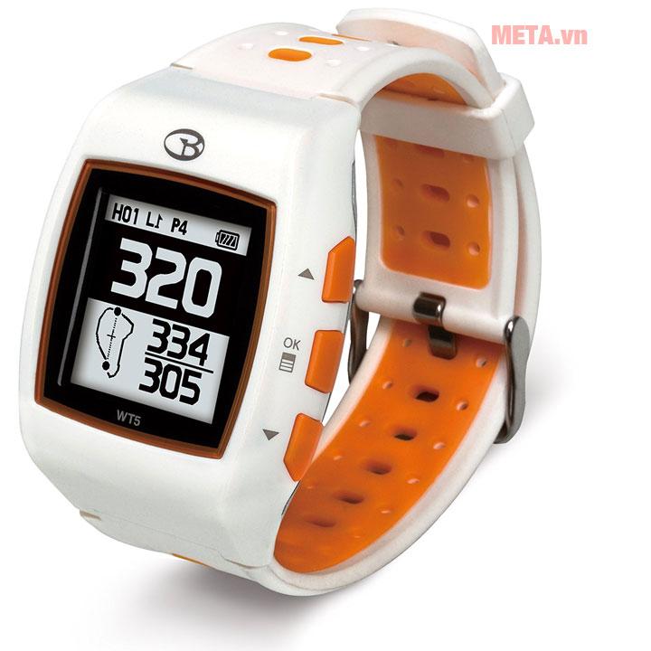 Đồng hồ golf Buddy trắng