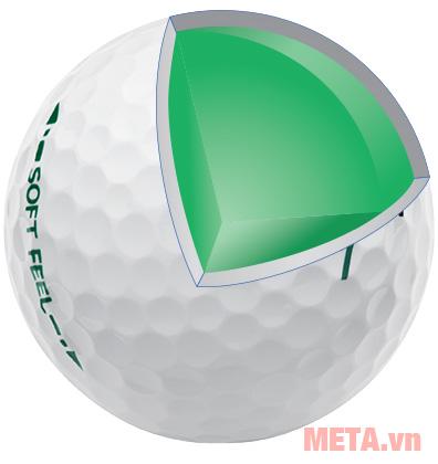 Bóng golf 4 lớp