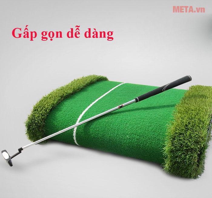 Thảm golf có thể gấp gọn
