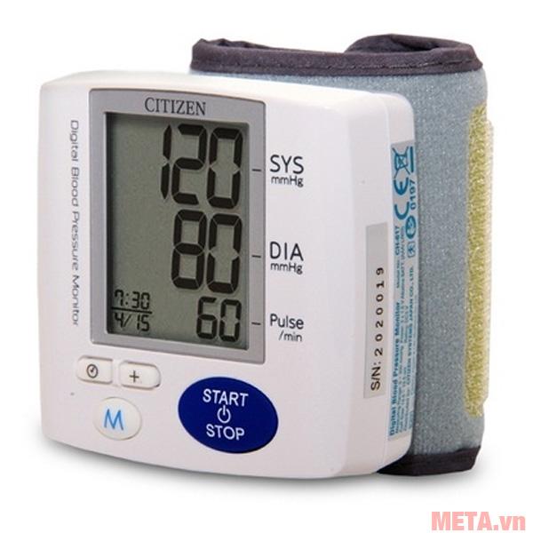 Máy đo huyết áp điện tử cổ tay CH-617