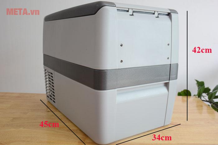Kích thước tủ lạnh ô tô