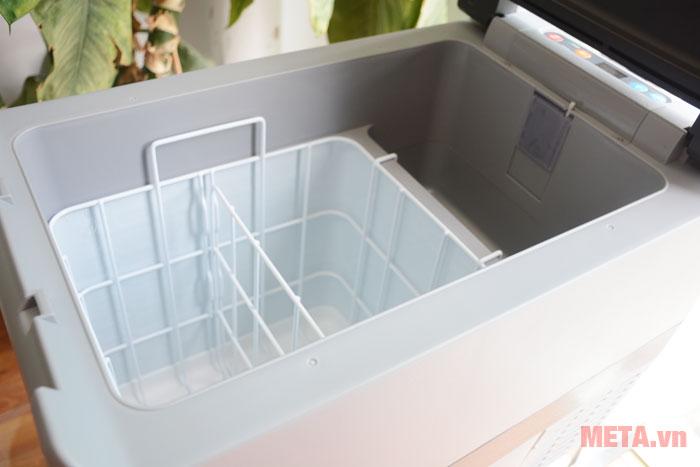 Khoang chứa đồ của tủ lạnh ô tô