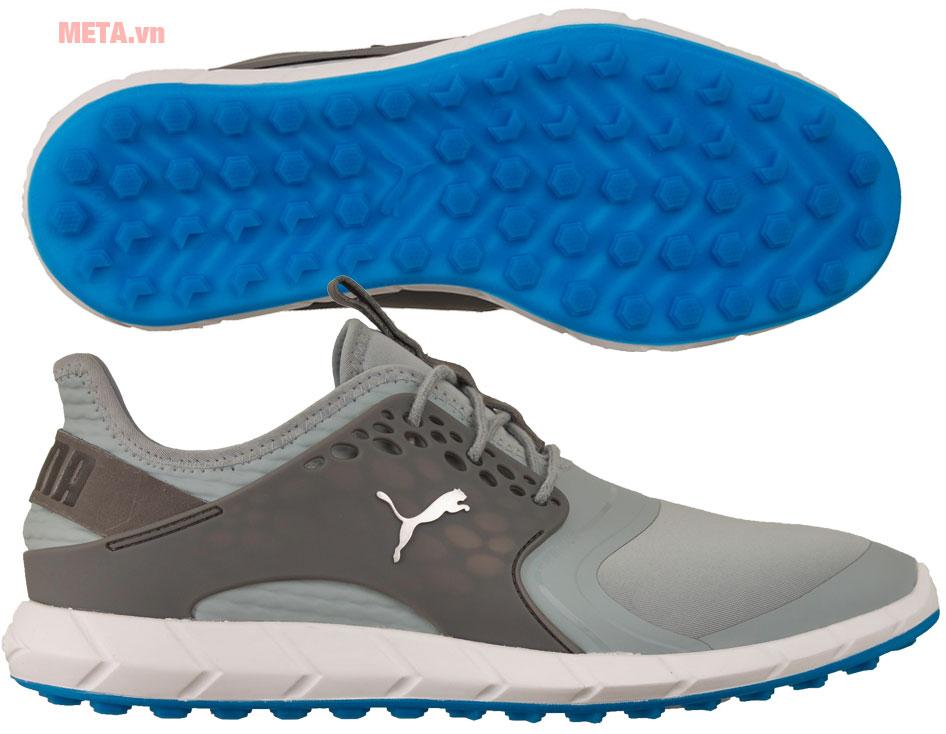 Giày golf trắng xám