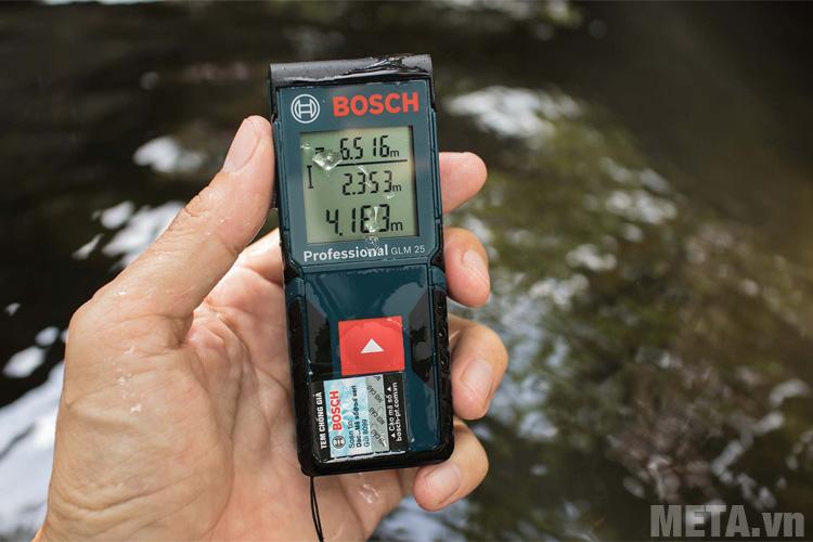 Máy đo khoảng cách có khả năng chống nước IP54