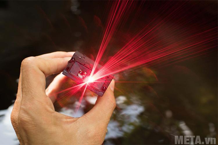 Tia laser an toàn không gây hại