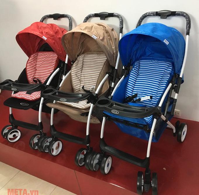 Màu sắc xe đẩy em bé