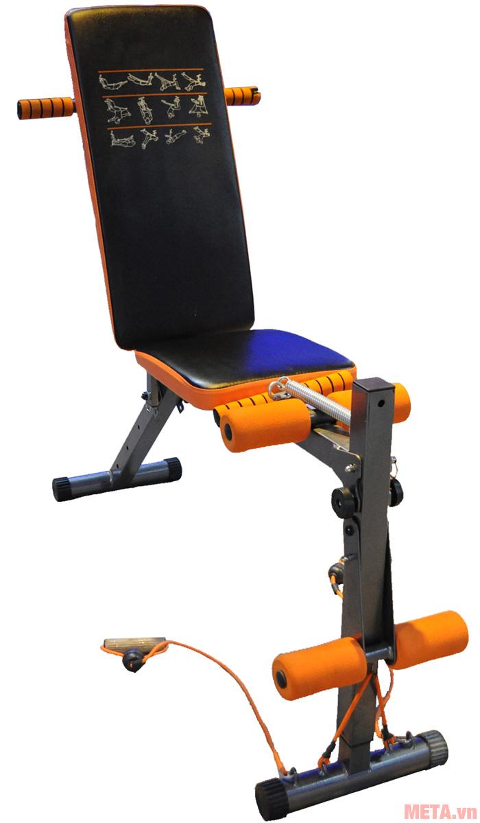 Hình ảnh ghế tập bụng điều chỉnh độ dốc MOFIT EN100