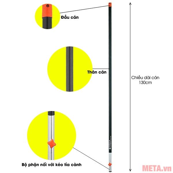 Cán nhôm đa năng 130cm Gardena 03713-20