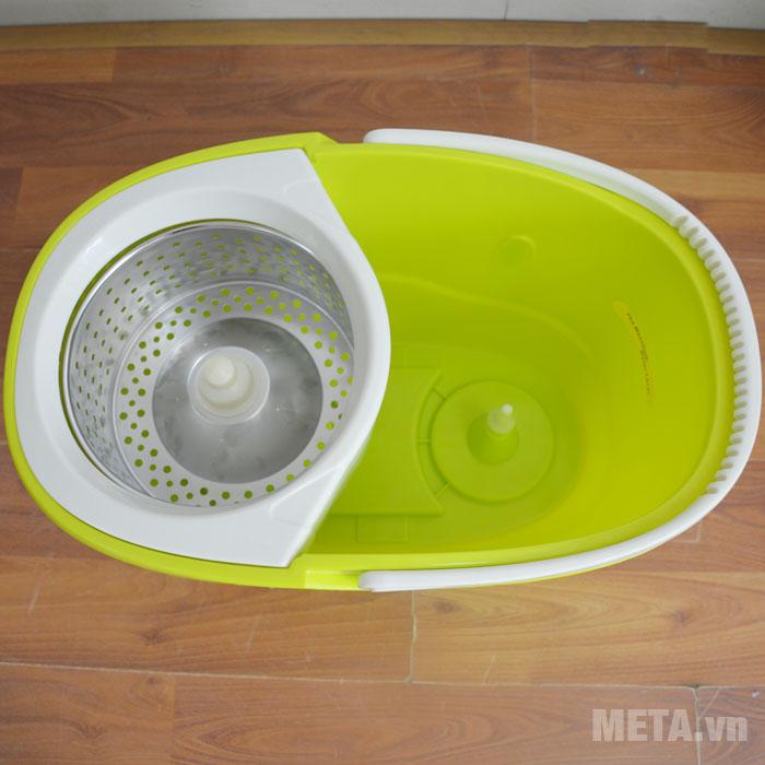 Lồng giặt hoạt động vơi cơ chế ly tâm