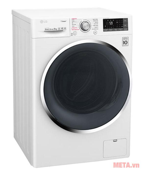 Máy giặt lồng ngang có thiết kế tiện lợi