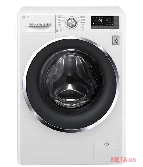 Máy giặt lồng ngang 9kg Inverter LG FC1409S3W