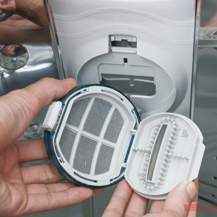 Máy giặt hoạt động bền bỉ