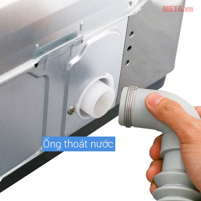 Máy giặt LG với ống thoát nước