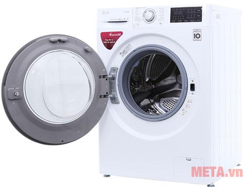 Máy giặt lồng thép