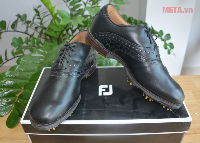 Giày golf nam FootJoy Icon Black 52036