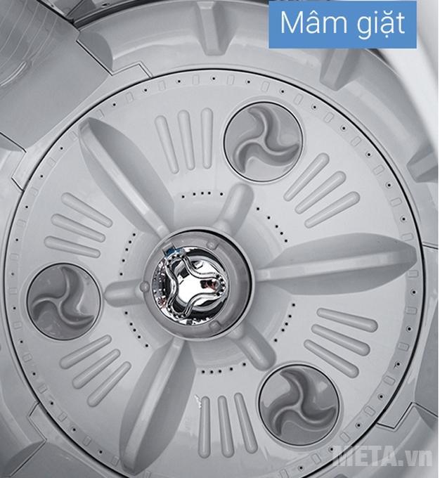 Mâm giặt được làm bằng chất liệu bền bỉ