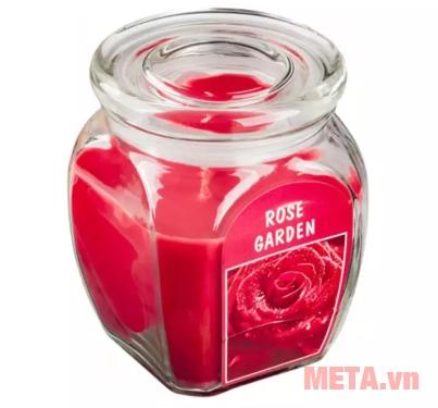 Hũ nến thơm hương hoa hồng