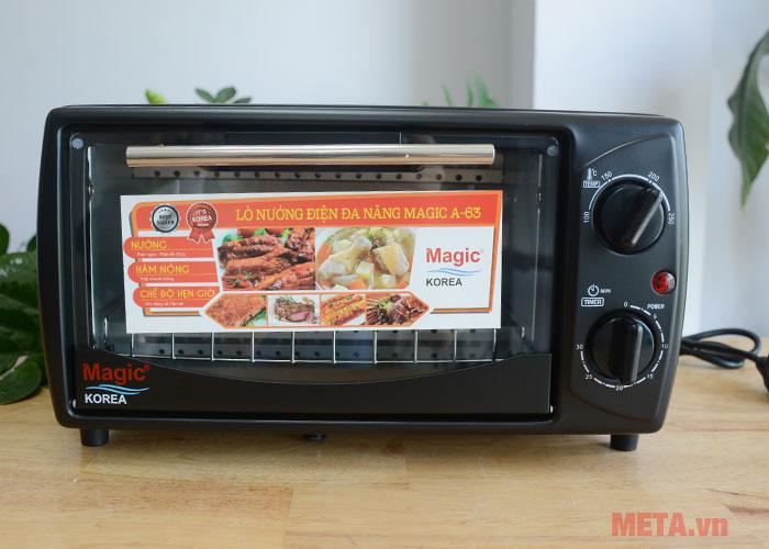 Lò nướng điện đa năng Magic Korea A63 giúp xa đình bạn tiết kiệm điện năng