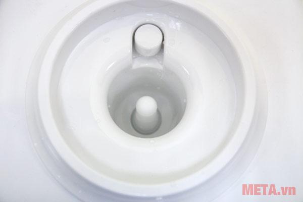 Vị trí lắp bình nước vào cây nước