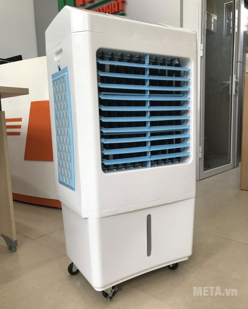 Máy làm mát không khí có thiết kế tiện ích