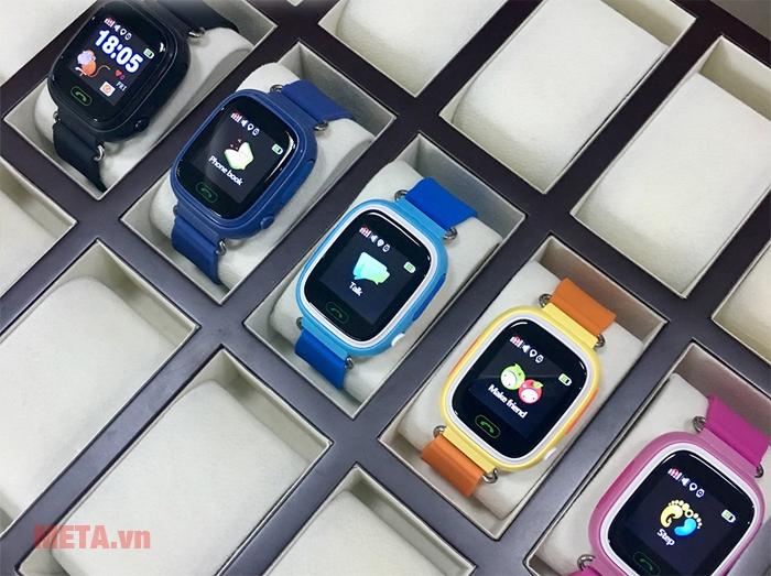 Đồng hồ định vị Wonlex GW100 có nhiều màu sắc