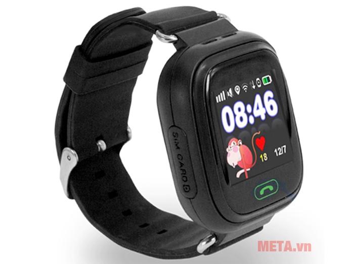 Đồng hồ định vị Wonlex GW100 màu đen