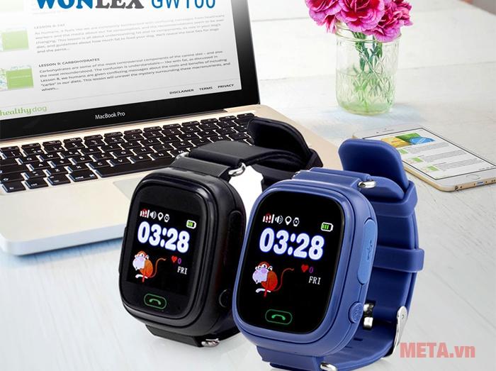Đồng hồ định vị Wonlex GW100 - META.vn