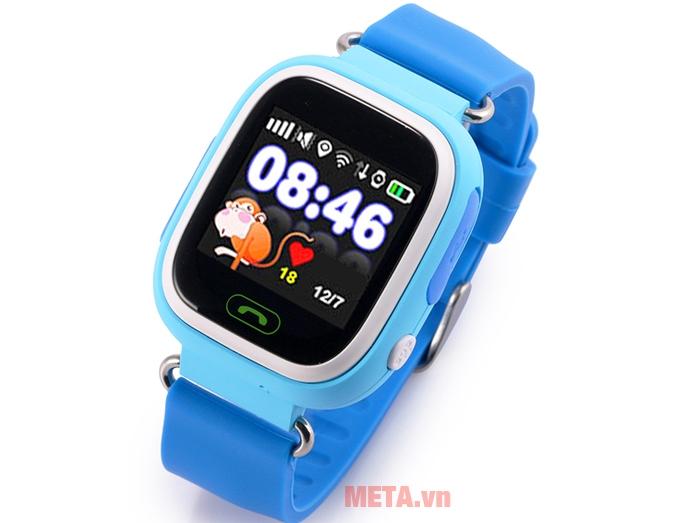 Đồng hồ định vị Wonlex GW100 màu xanh dương
