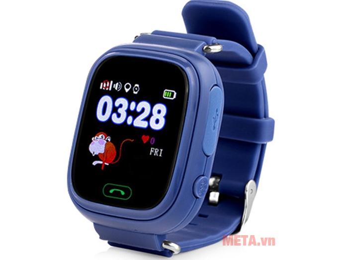Đồng hồ định vị Wonlex GW100 màu xanh sẫm