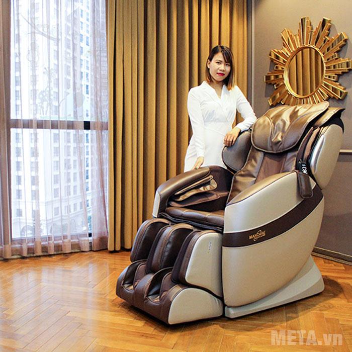 Thiết kế ghế massage sang trọng