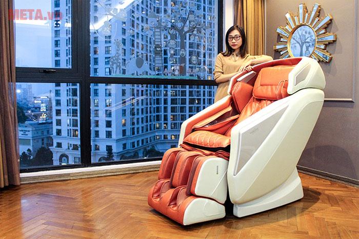 Ghế massage tạo cảm giác thoải mái
