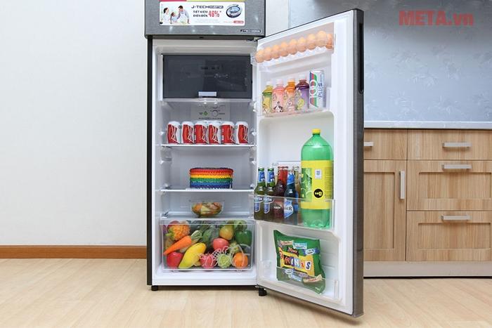 Ngăn giữ tươi linh hoạt giúp bảo quản thực phẩm dễ dàng hơn