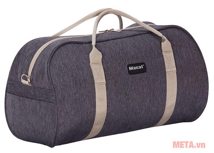 Túi du lịch màu xám