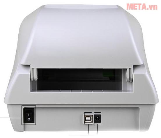 Cổng kết nối của máy in mã vạch