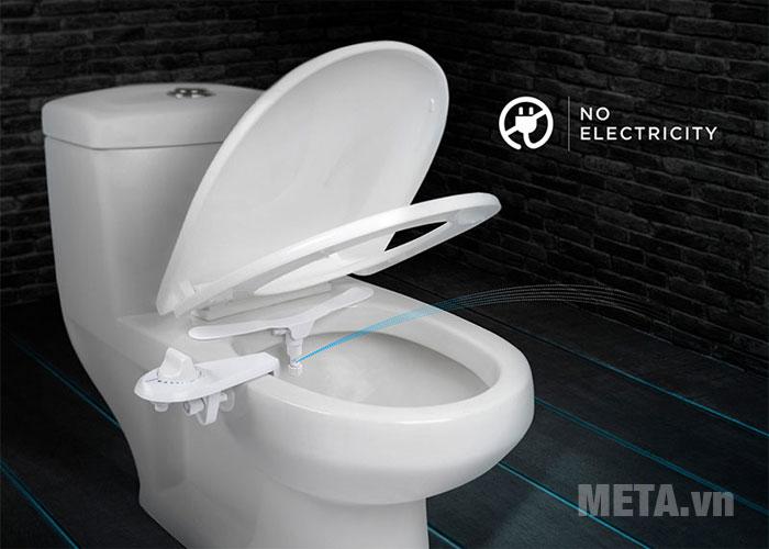 Thiết bị vệ sinh thông minh dễ dàng lắp đặt