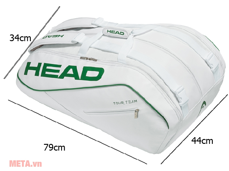Head White 12R MONSTERCOMBI 283388