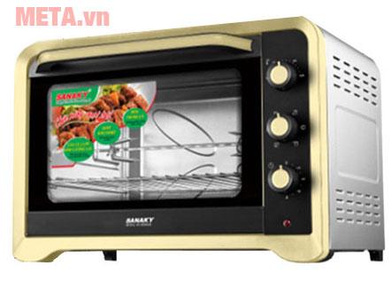 Lò nướng 80 lít Sanaky VH-809N2D