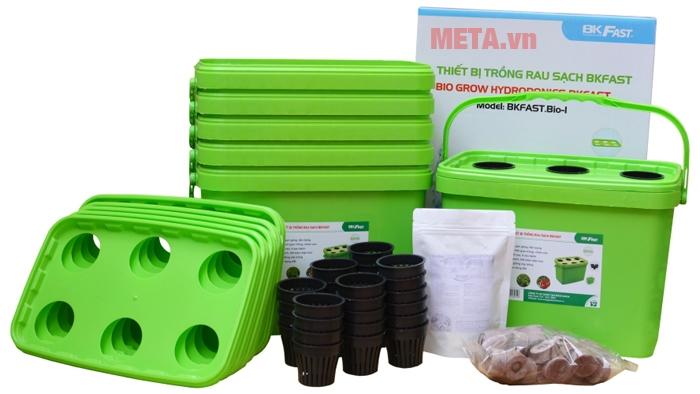 Bộ sản phẩm thiết bị trồng rau sạch