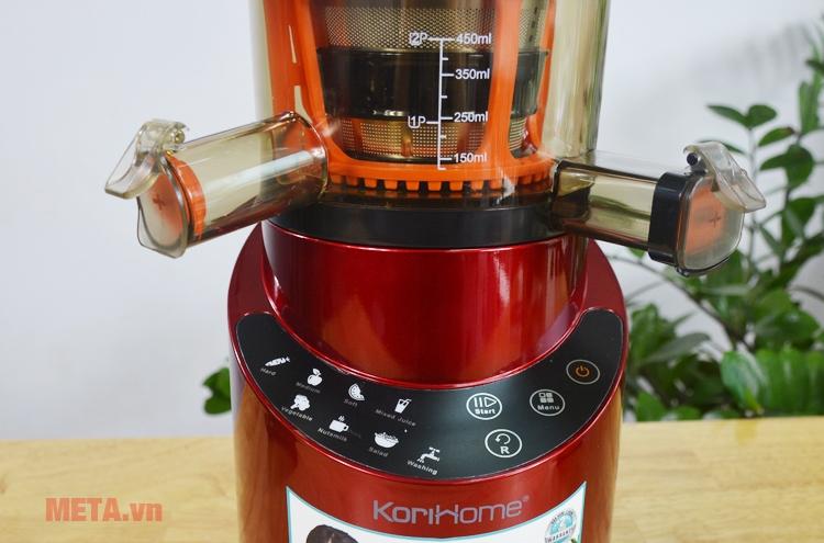 Máy ép trái cây Korihome JEK-844 dễ sử dụng