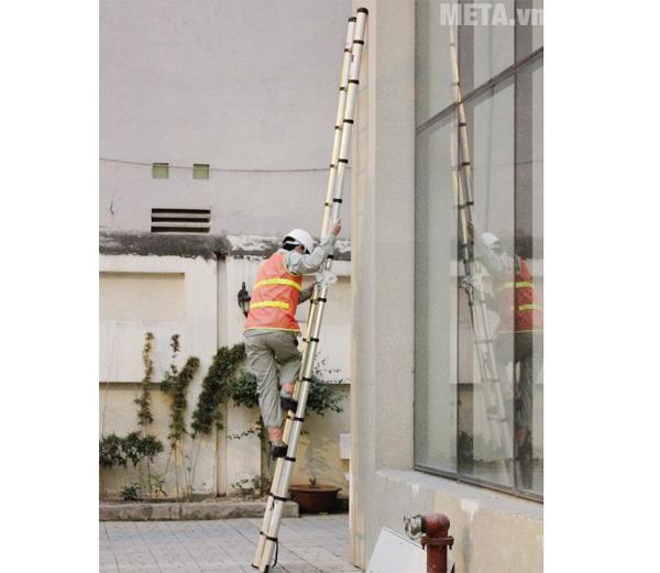 Thang nhôm thông minh Nikita NKT-AI44 có chiều cao tối 4,4m