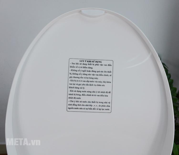 Nắp vệ sinh thông minh cho gia đình, khách sạn