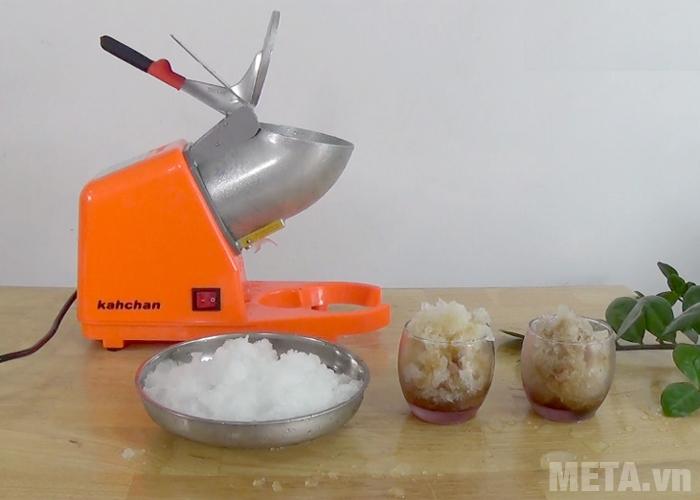 Bạn có thể chế biến nhiều loại thức uống với máy làm đá bào