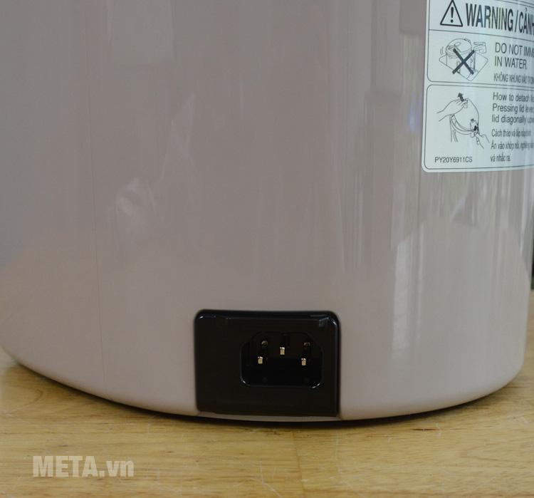 Bình thủy điện dễ tháo rời dây điện